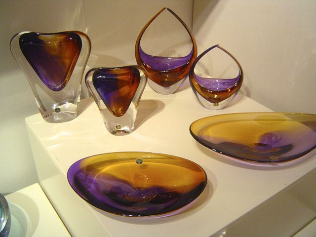 assortiment in amber/paars